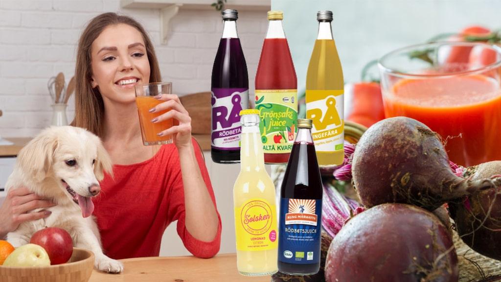 18 olika juicer testas.