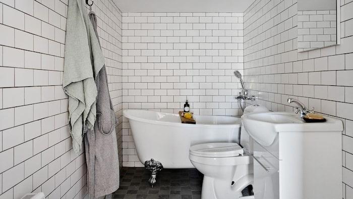 Badrummet är dock nyrenoverat 2021.