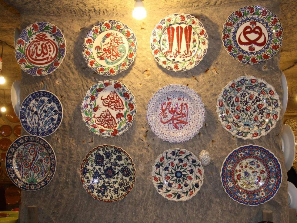 Sultans Ceramic Alaattin Mah. För den dyraste pjäsen får du betala 145 000 kronor.