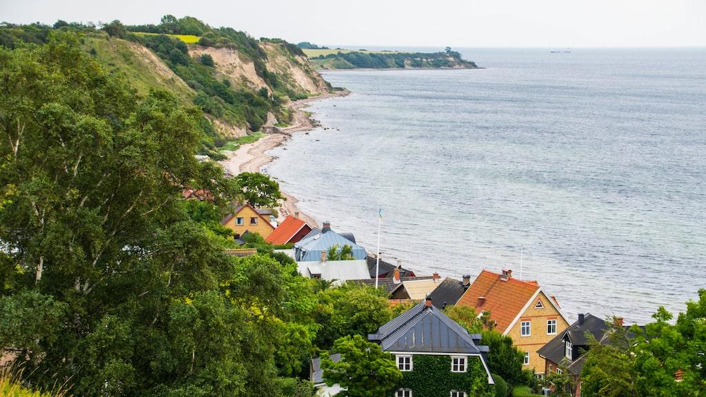 Cykling eller vandring på ön Ven i Skåne kan man jämföra med det här stället...