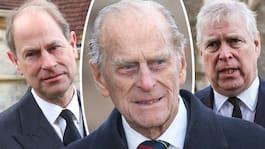 Barnens saknad efter sin pappa prins Philip