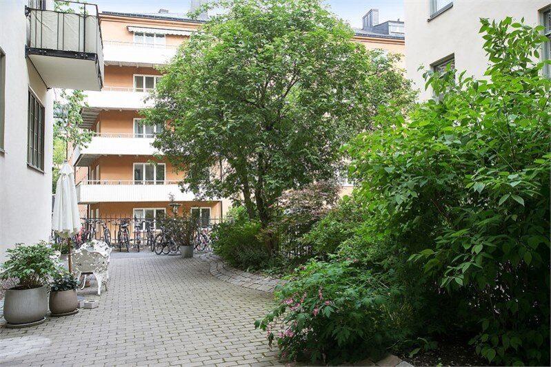 <p>Innergården. </p>