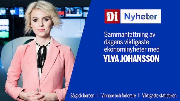 Di Nyheter: Stockholmsbörsen upp nästan 0,5 procent