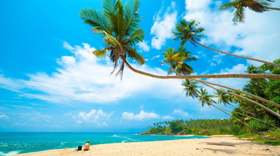 Hikkaduwa är en turistort med fina stränder på Sri Lankas västkust.