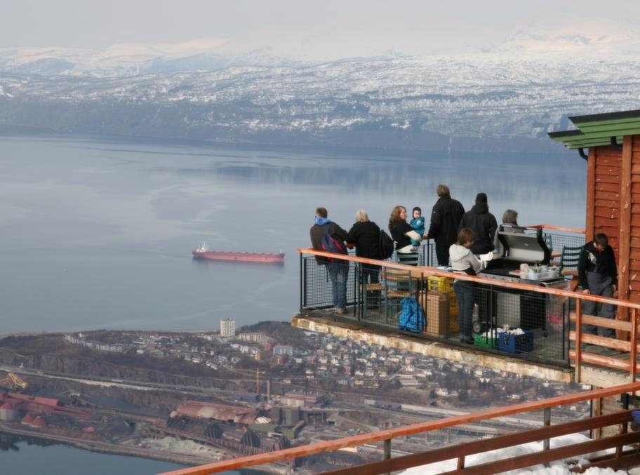 Utsikt över Narvik.