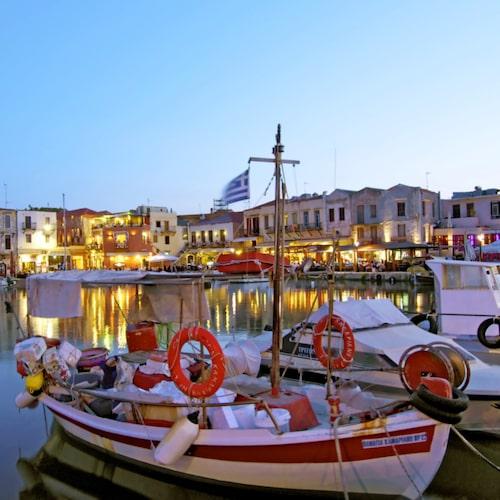 Rethymnon är Kretas tredje största stad.