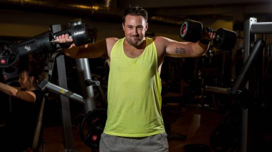 Martin får bra resultat genom att kombinera styrketräning med LCHF-kost och försöker träna fem, sex dagar i veckan.