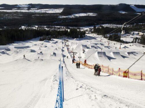 Kläppen Snowpark är bäst i Sverige