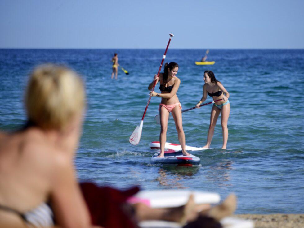 sup – stand up paddling – är nya flygan av aktiviteter.