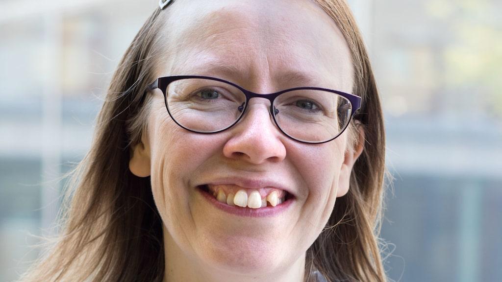 Karolina Sjöberg Jabbar, disputerad vid Sahlgrenska akademin, Göteborgs universitet, och försteförfattare till artikeln.