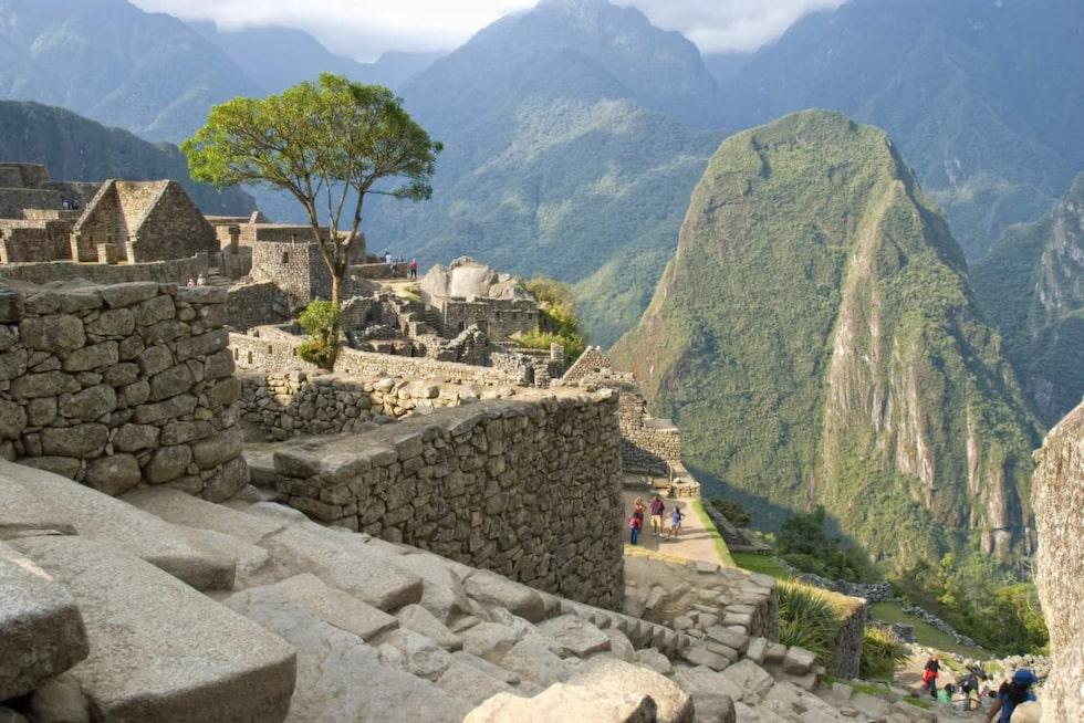 Utsikten över Anderna är hisnande vacker.