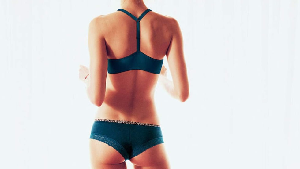 Monika Jagaciak för Victoria's Secret.