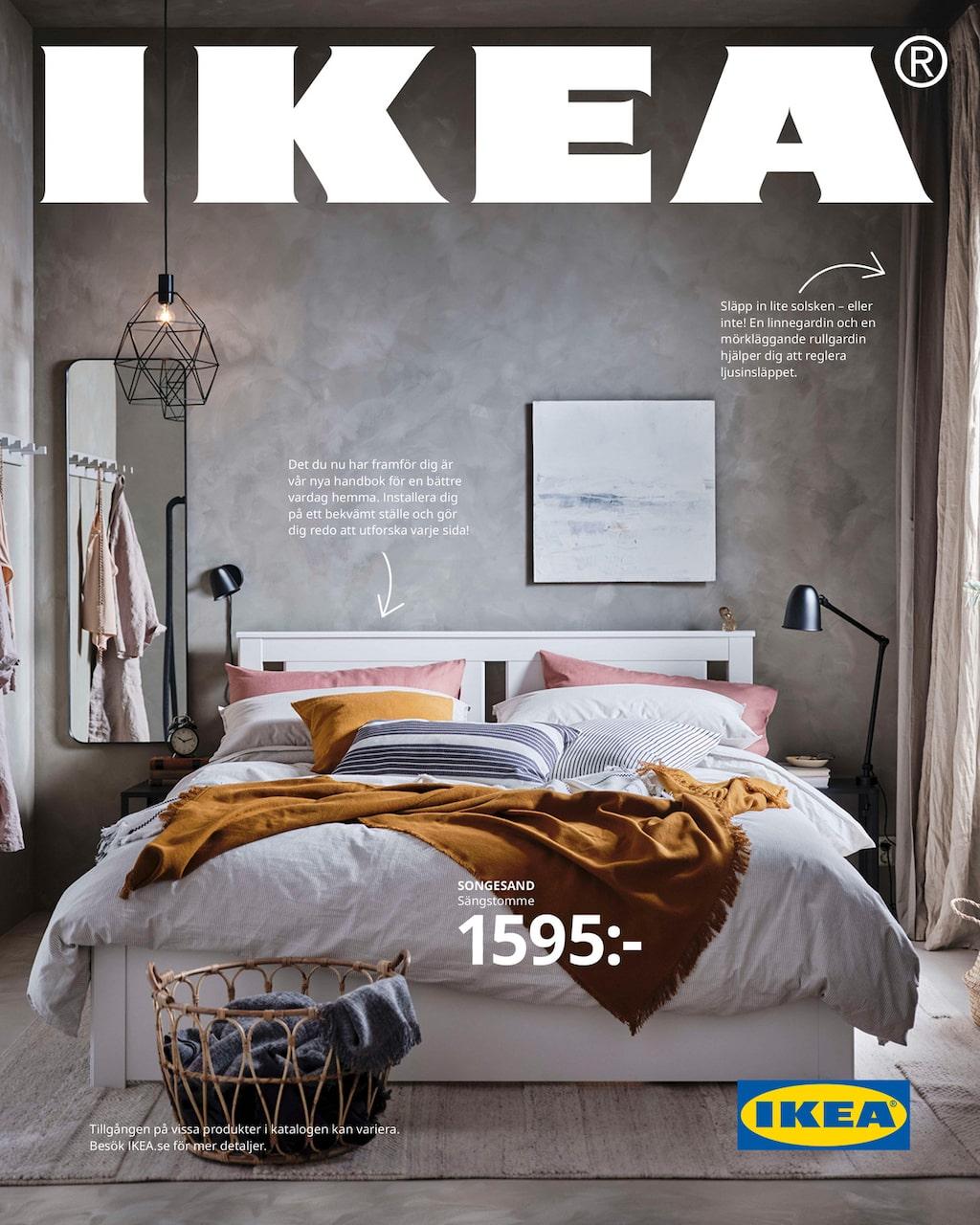 Ikea-katalogen försvinner. Här är den senaste som kom ut i höstas – Ikea kallar den nya katalogen för 2021 för en handbok med inredningstips.