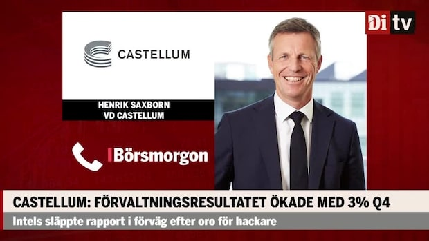 """Castellum om budet på Entra: """"Har det mest attraktiva budet"""""""
