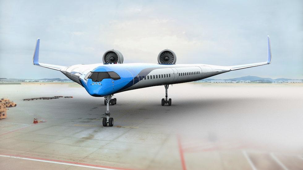 Det är hög tid för en annan typ av design på flygplan.