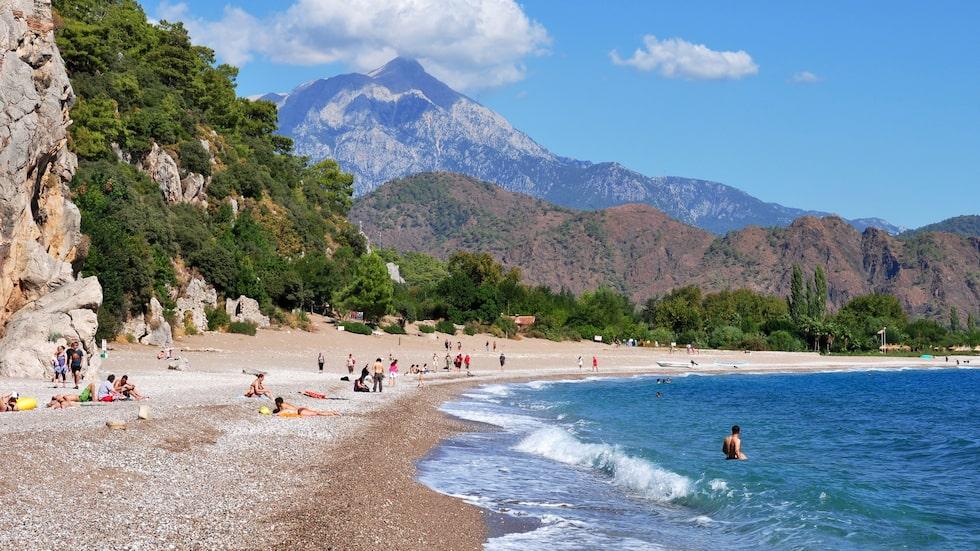 Det nya veganhotellet ligger 2,5 kilometer från stranden Olympos.