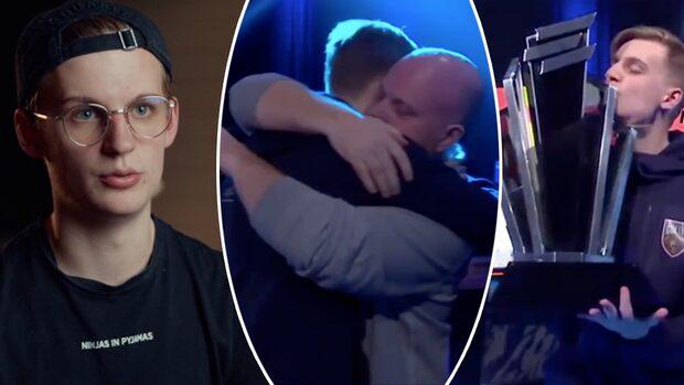 """Så blev Ollelito världens bästa i Fifa: """"Kommer aldrig glömma kramen"""""""