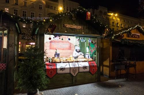 Polen bästa julmarknad hålls i Poznan och gästas av isskulptörer från hela världen.