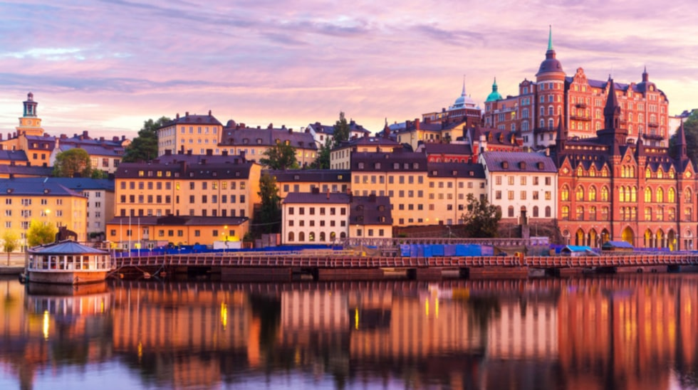 Huvudstaden Stockholm kommer först på tredje plats.