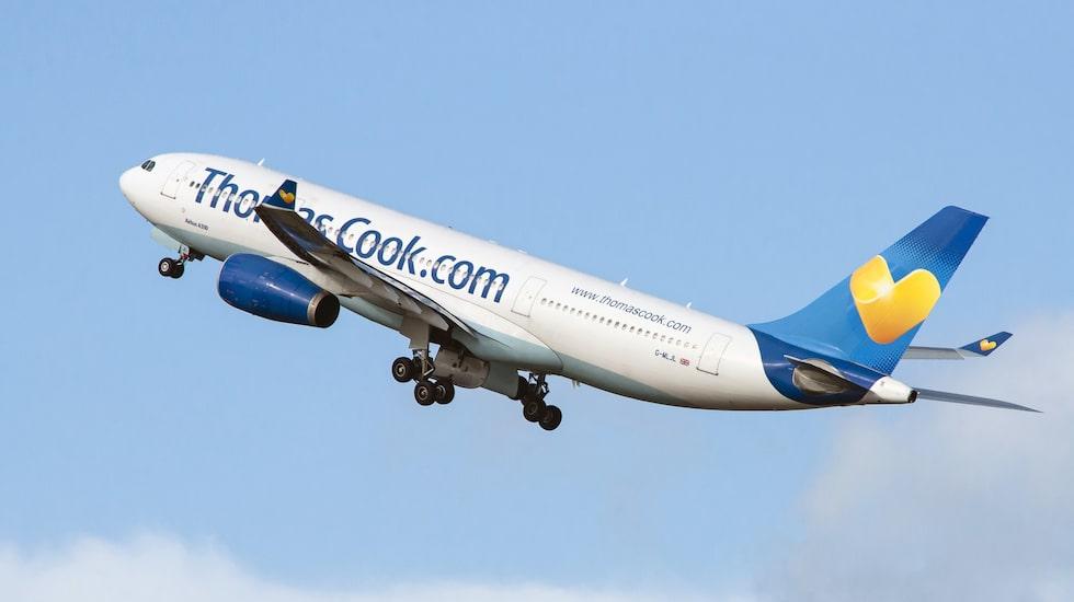 Thomas Cook Airlines har ansökt om konkurs.