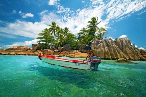 Seychellerna har två världsarv: Vallée de Mai, hemvist för Coco de Mer-palmen, samt Aldabra med tio gånger fler jättesköldpaddor än på Galapagos.