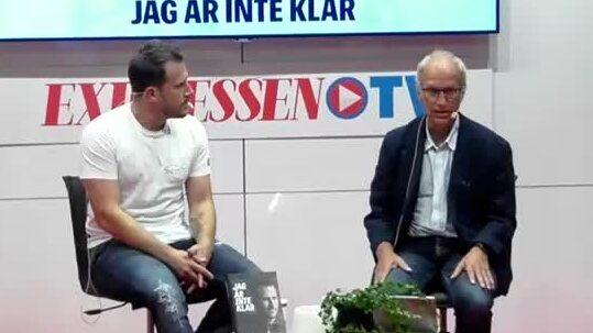 Tobias Hysén gästar Expressens scen på Bokmässan