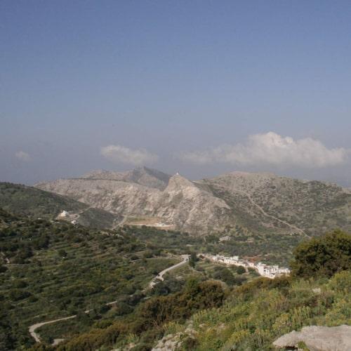 Vacker natur och historia finns i överflöd på Naxos