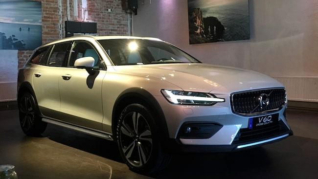 Volvo har världspremiär för nya V60 Cross Country i Stockholm.