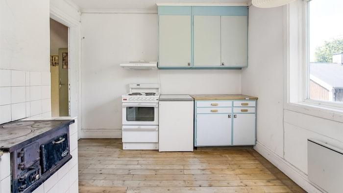 Här finns möjlighet att skapa ett riktigt drömkök.