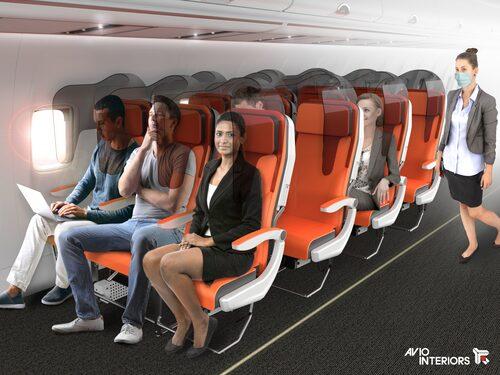 I Glassafe sitter varje passagerare i sin egen kokong.