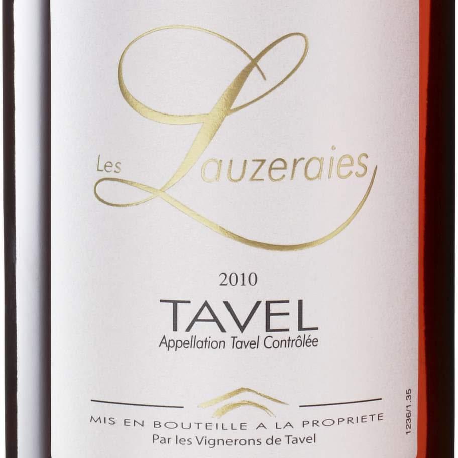 Les Lauzeraies Tavel 2012 (2724) Frankrike, 99 kr