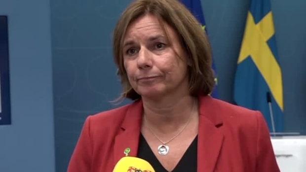 """Isabella Lövin (MP) om Preemraff: """"Finns ingen deadline för det"""""""