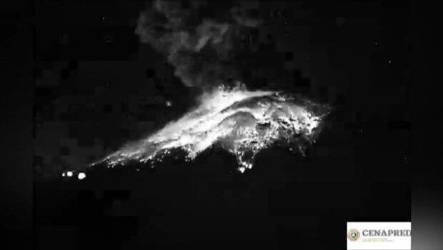 Stort vulkanutbrott nära Mexico City