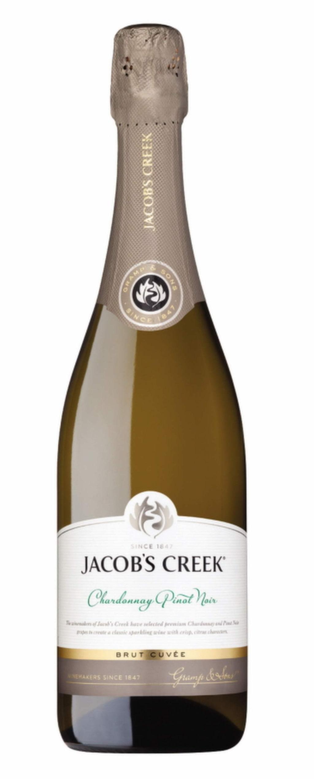 """Mousserande<br><exp:icon type=""""wasp""""></exp:icon><exp:icon type=""""wasp""""></exp:icon><exp:icon type=""""wasp""""></exp:icon><exp:icon type=""""wasp""""></exp:icon><br><strong>Jacob's Creek Chardonnay Pinot Noir Brut Cuvée (7359) South Eastern Australia, 89 kr</strong><br>Friskt och piggt, klart aptitretande. Toner av äpplen, citrus och persikor. Gott till laxröra i tunnbröd"""