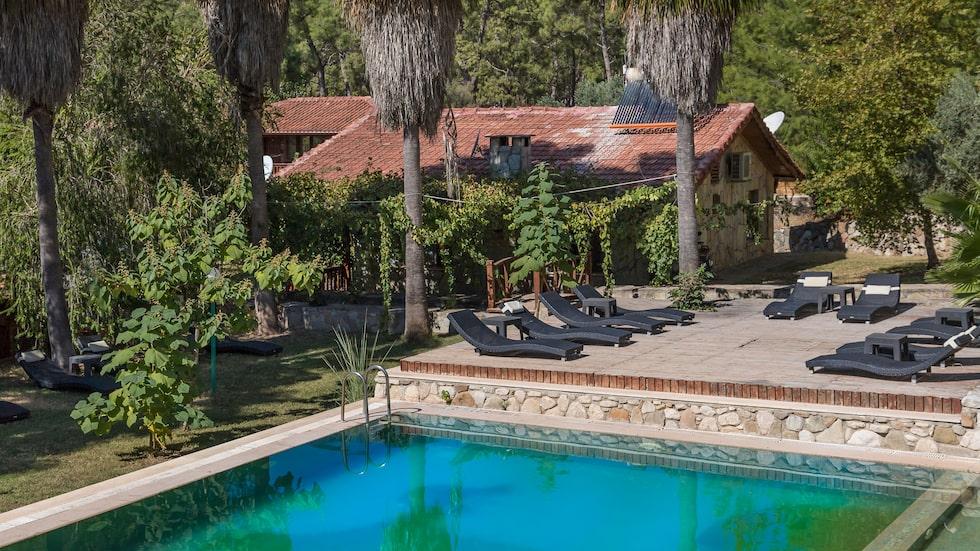 Hotellet ligger i Olympos, i Antalya-regionen.
