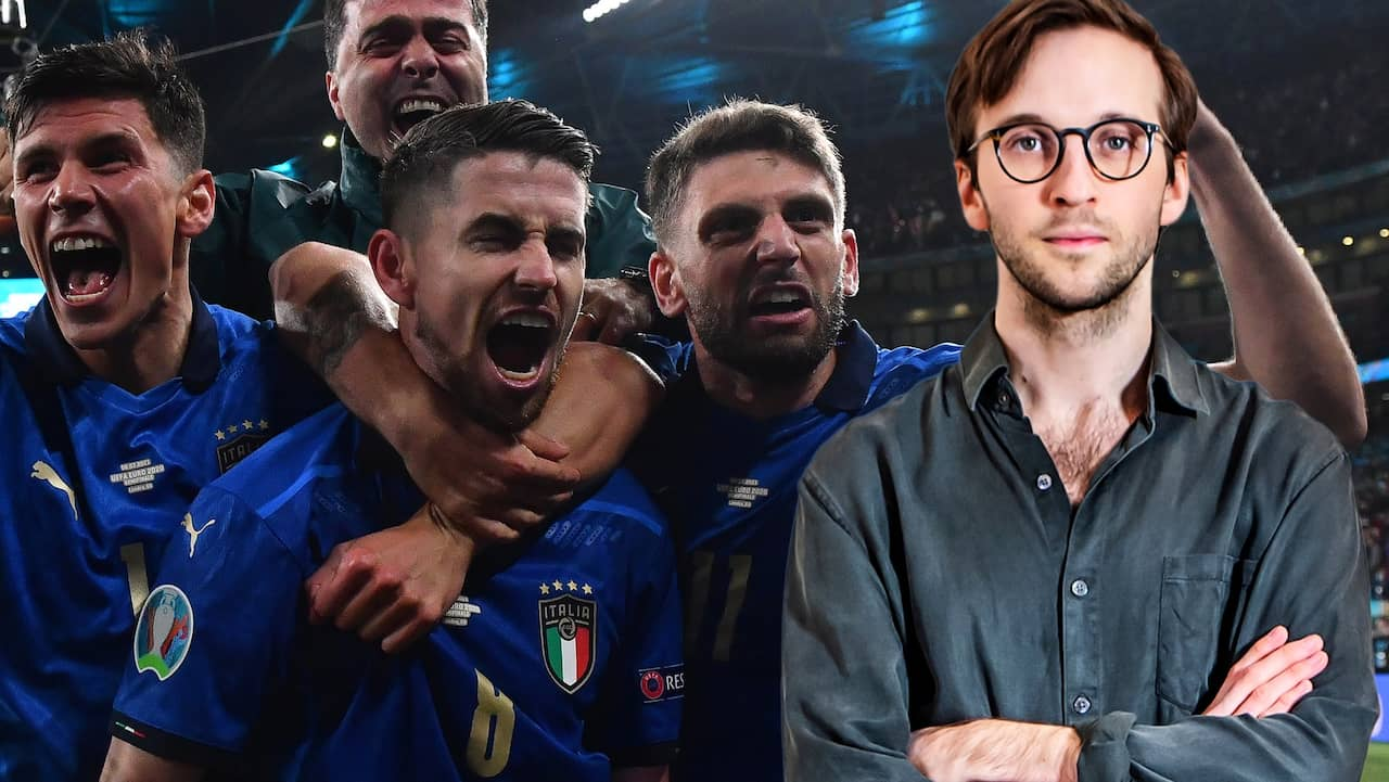 Italien kunde inte bry sig mindre