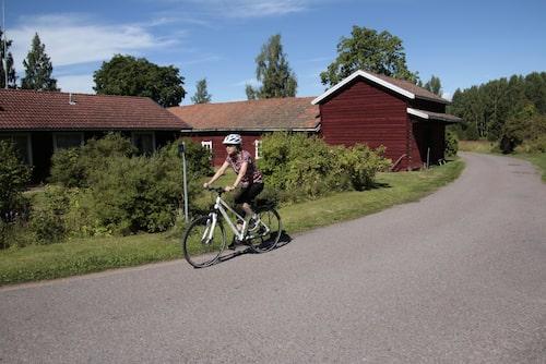 Tällbergsvägen mellan Rättvik och Leksand har klar nostalgikänsla.