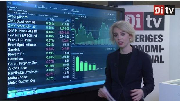 Marknadskoll: Stockholmsbörsen svagt uppåt – Astra Zeneca upp mest på OMXS30