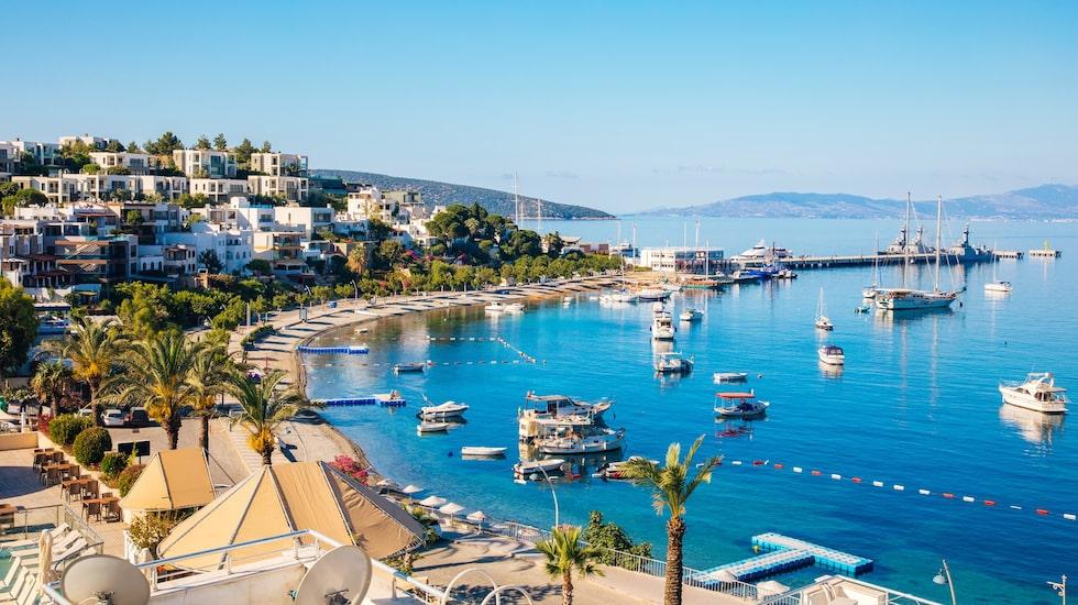 Bodrum är ett populärt semestermål som ligger i Turkiet vid kusten av Egeiska havet.