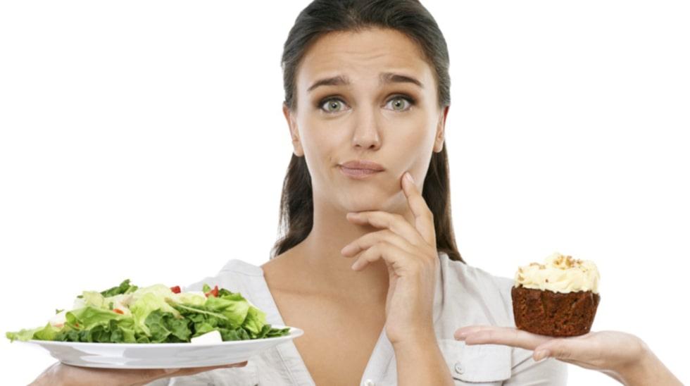 Hur mycket kalorier du får i dig beror helt på vad du äter och dricker.