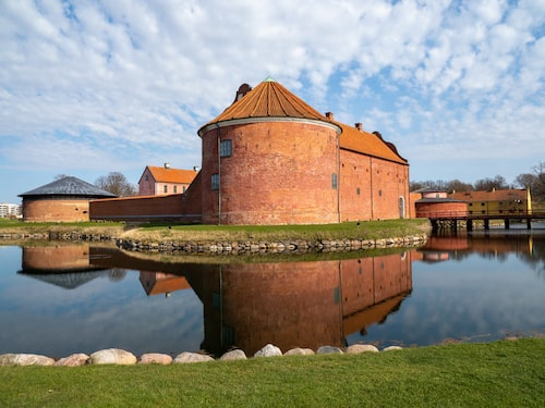 Ståtliga citadellet i Landskrona.