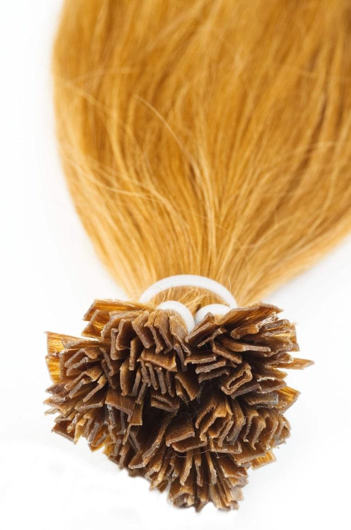 Nail hair - löshår som värms fast i ditt eget hår.