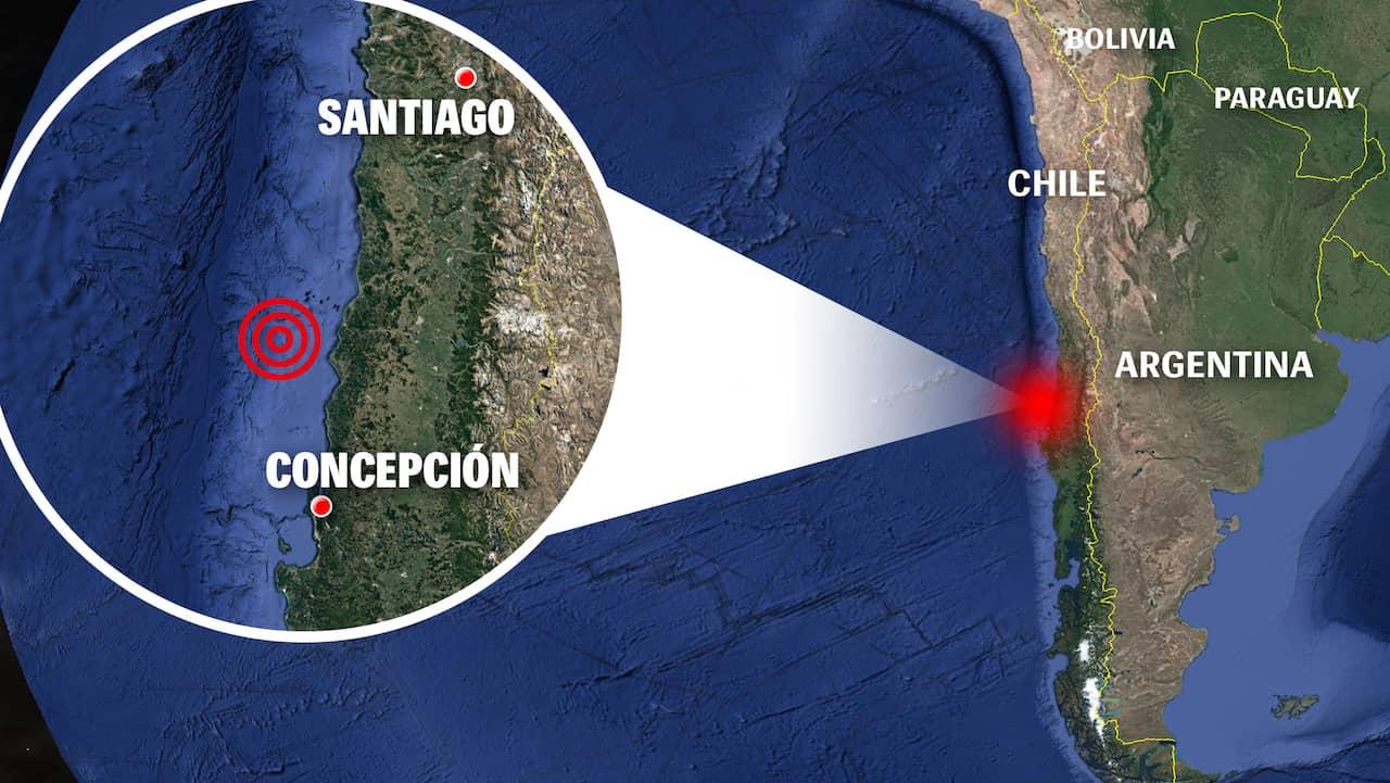 Felaktig tsunamivarning i Chile skapade panik