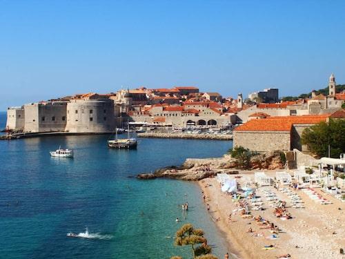 Dubrovniks fina gamla stad.