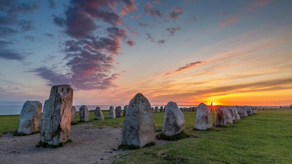 Ale stenar – ett av Sveriges många fantastiska fornminnen.