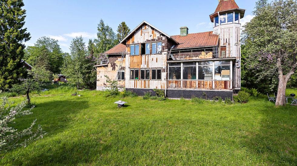 Huset har stått på Alnö sedan 1899.