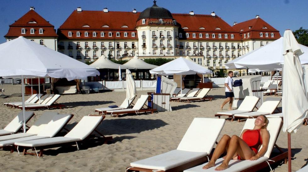 Sopot är en grön oas mellan storstäderna Gdansk och Gdynia. Och en riktigt klassisk europeisk badort.