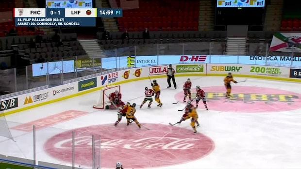 Höjdpunkter: Lysell matchvinnare mot Frölunda