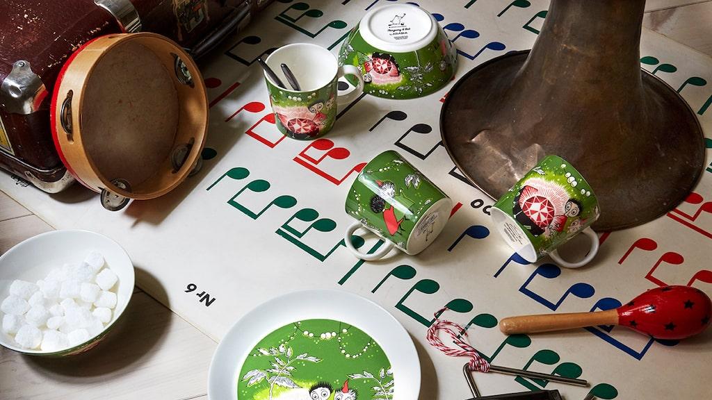 Mumin och alla dess figurer återfinns på både porslin och annat. Varumärket som sådant omsätter över 7 miljarder kronor per år.
