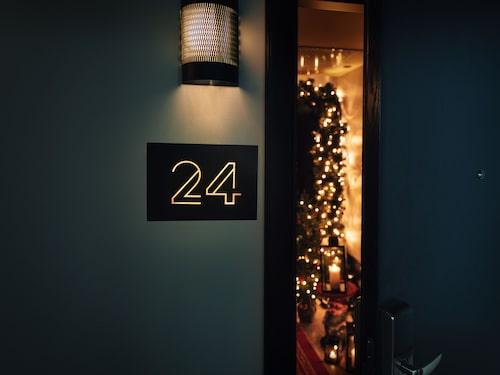 Tanken är att julrummet ska bli ett återkommande inslag på Haymarket by Scandic i Stockholm.